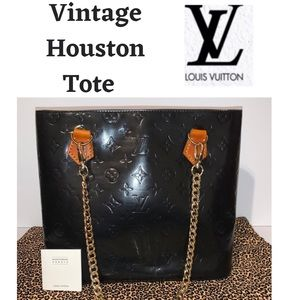Louis Vuitton Vintage Houston Tote Vernis Leather